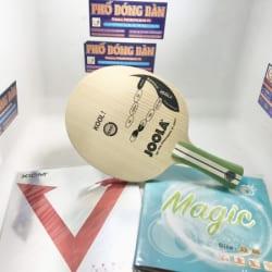 Joola Kool + Xiom Vega Asia + Magic